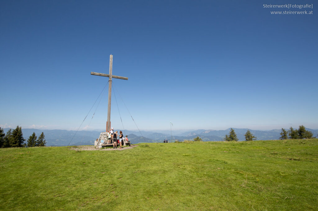 Gipfelkreuz am Schöckl