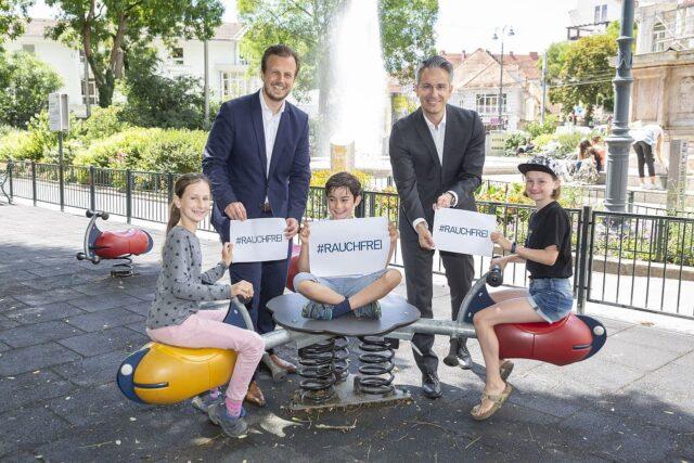 Grazer Kinderspielplätze rauchfrei
