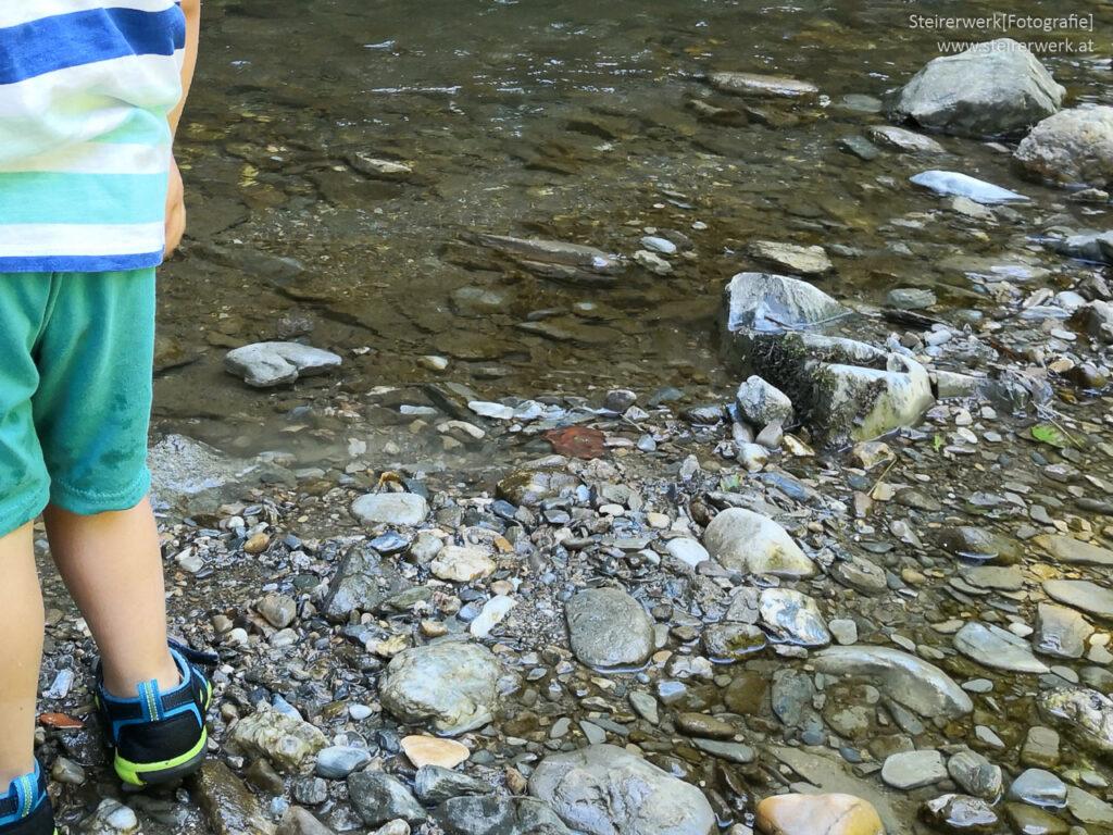 Wasserwanderweg für Kinder