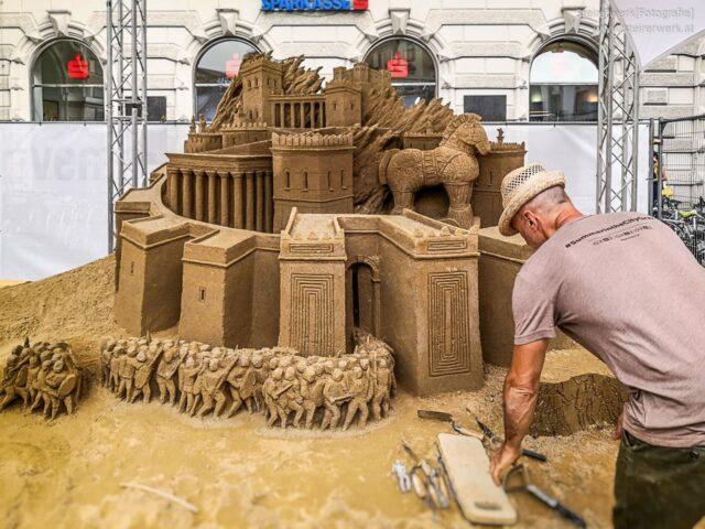 Sandskulpturen in Graz