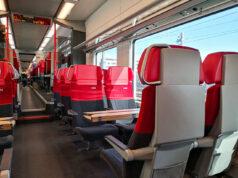 Zugfahrt Schnellbahn