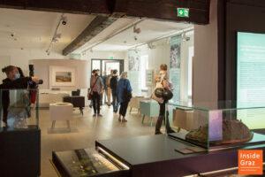 Geschichts Parcours Graz Museum Schlossberg