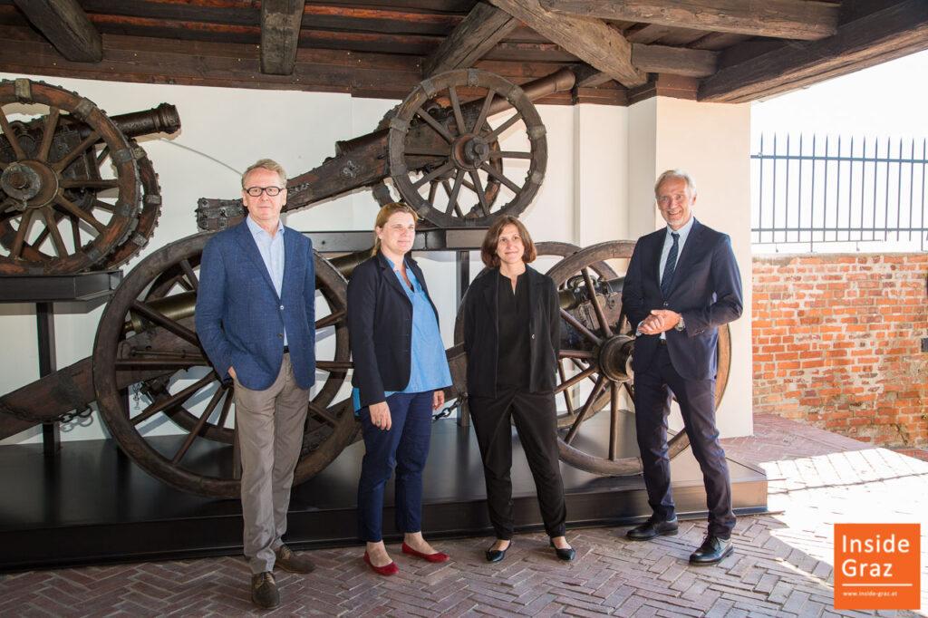 Graz Museum Sschlossberg Eröffnung