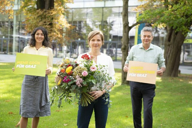 Spitzenkandidatin der Grünen in Graz