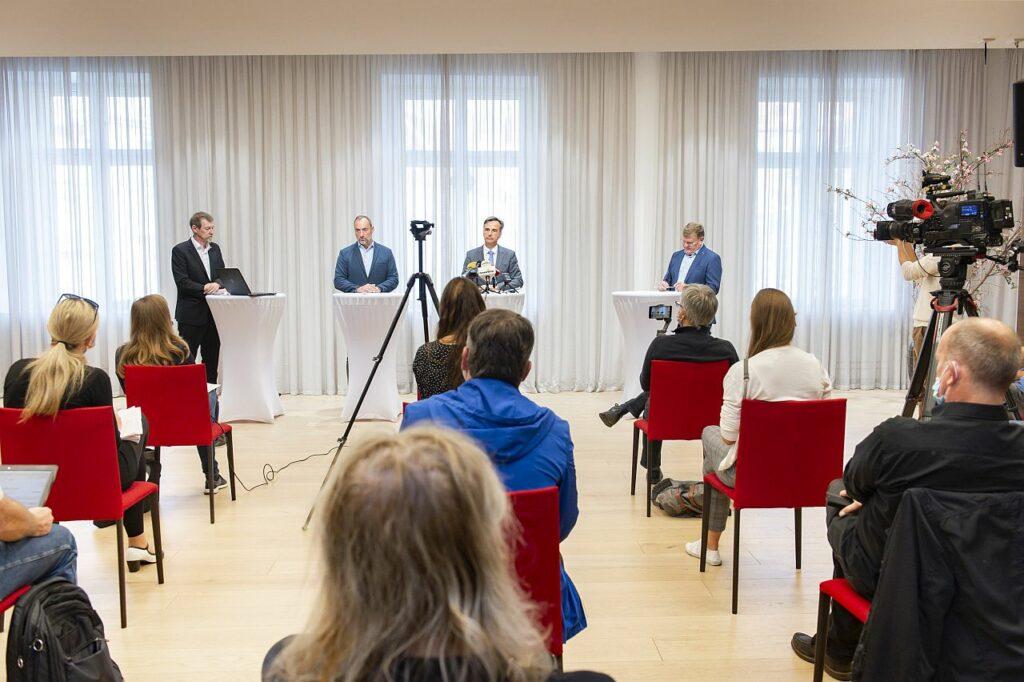 Pressekonferenz Weihnachtsmärkte Graz