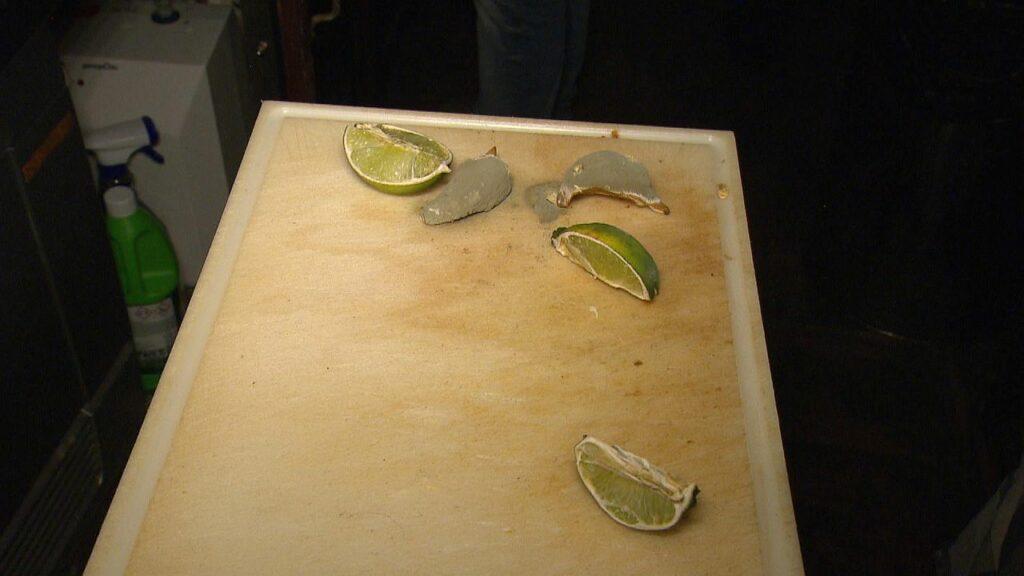 Schimmlige Limetten Lebensmittelpolizei ATV
