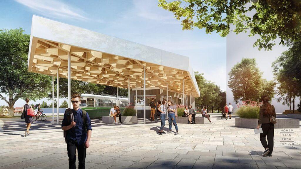 Pavillon Reininghauspark Entwurf