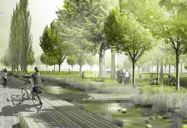 Reininghauspark Entwurf