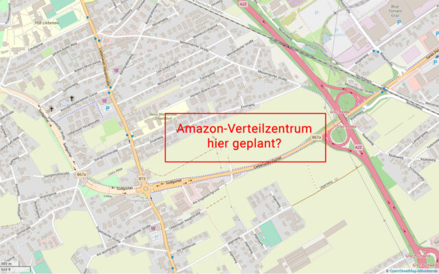 Amazon Verteilzentrum Graz Karte