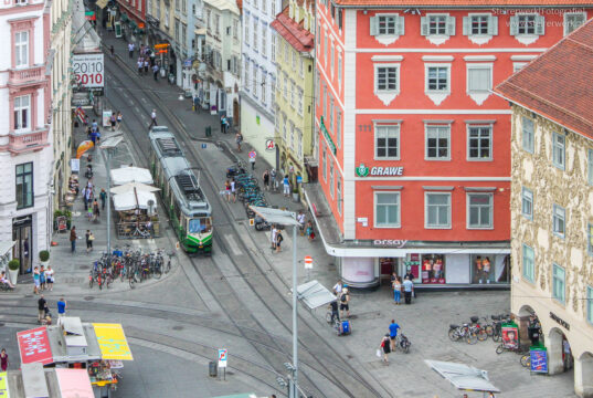 Autofrei in Graz