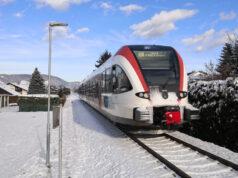 GKB Eisenbahn Schnee
