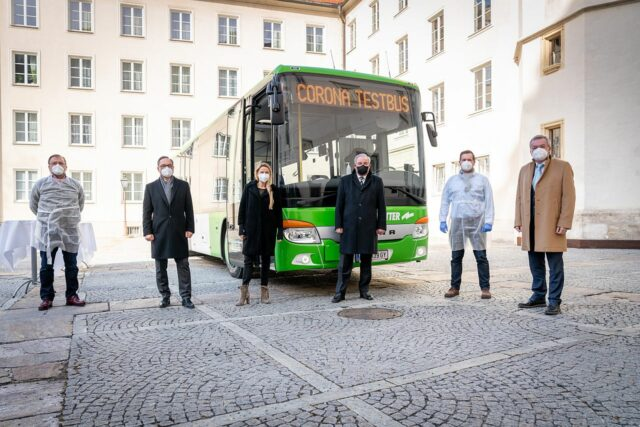 Covid Testbus Steiermark
