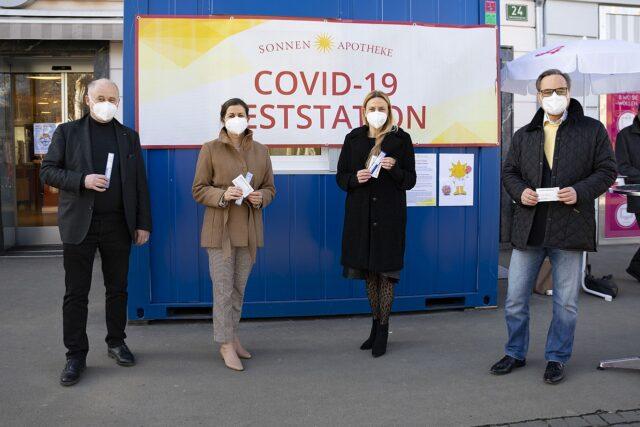 Kostenlose Corona-Antigen-Tests in den steirischen Apotheken