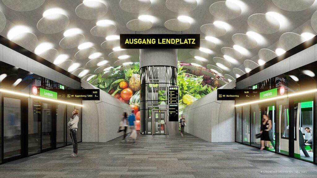 U-Bahn Station Lendplatz