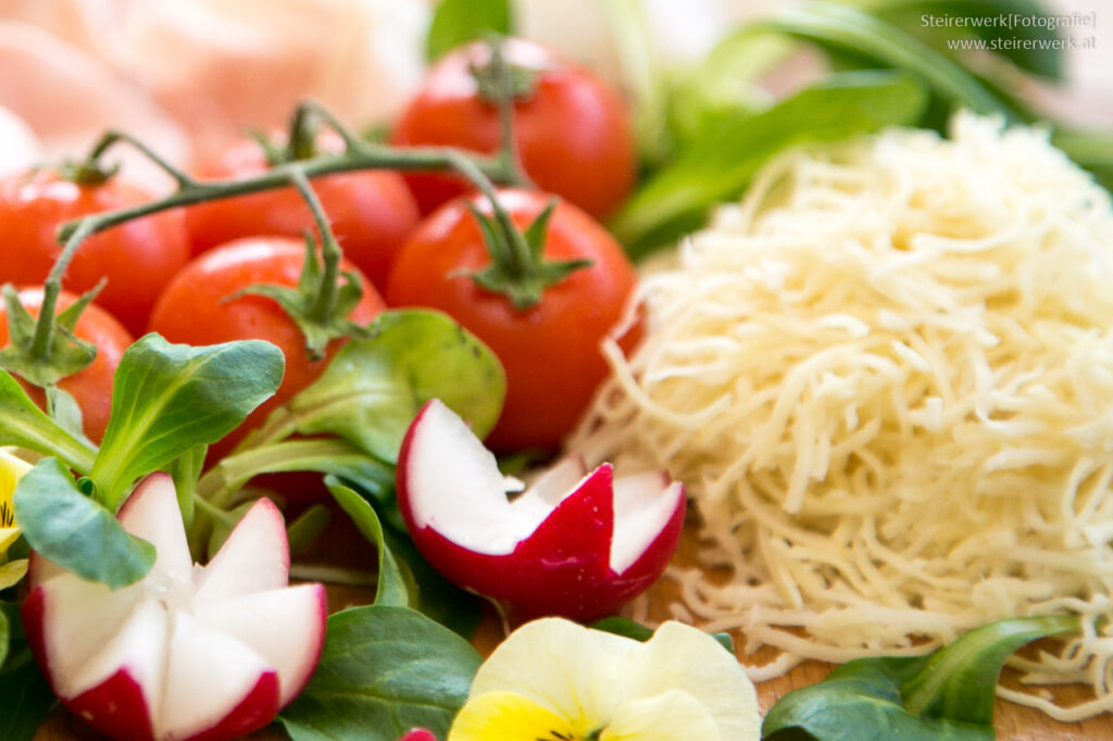 Osterjause Gemüse