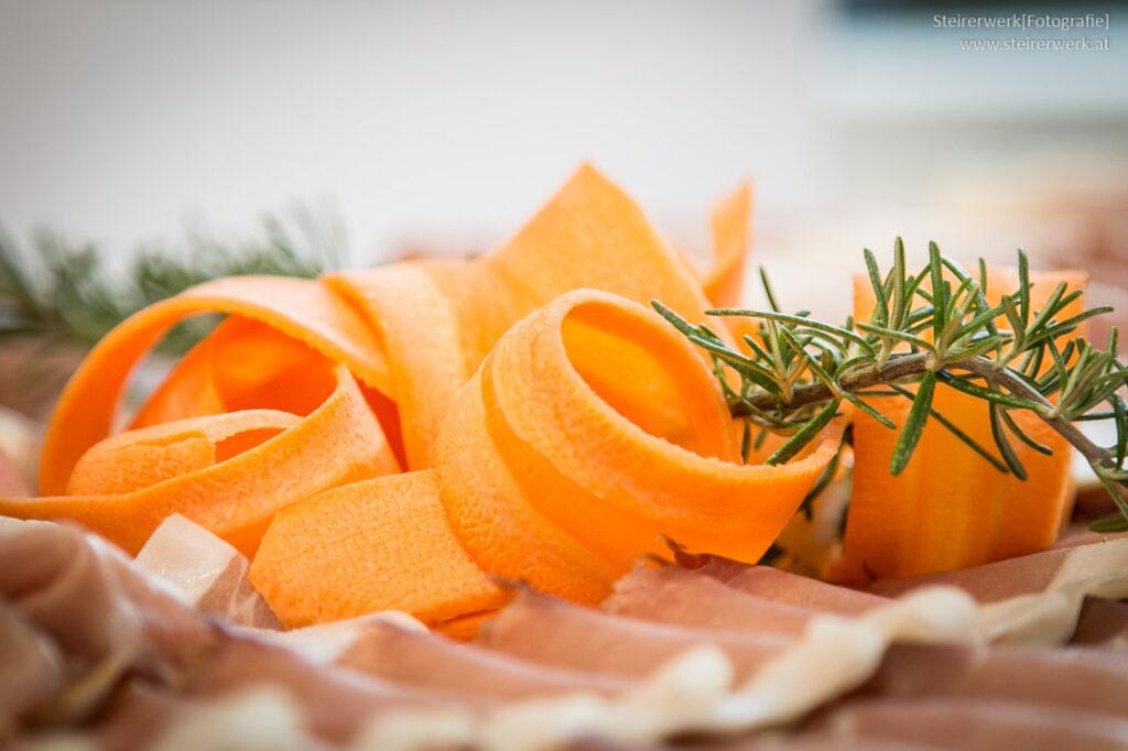Karotten auf der Osterjause
