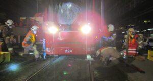 Straßenbahn Unfall Graz Puntigam