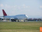 747 Jumbo-Jet Graz Flughafen