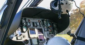Rettungshubschrauber Cockpit