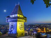 Europawoche Uhrturm Graz