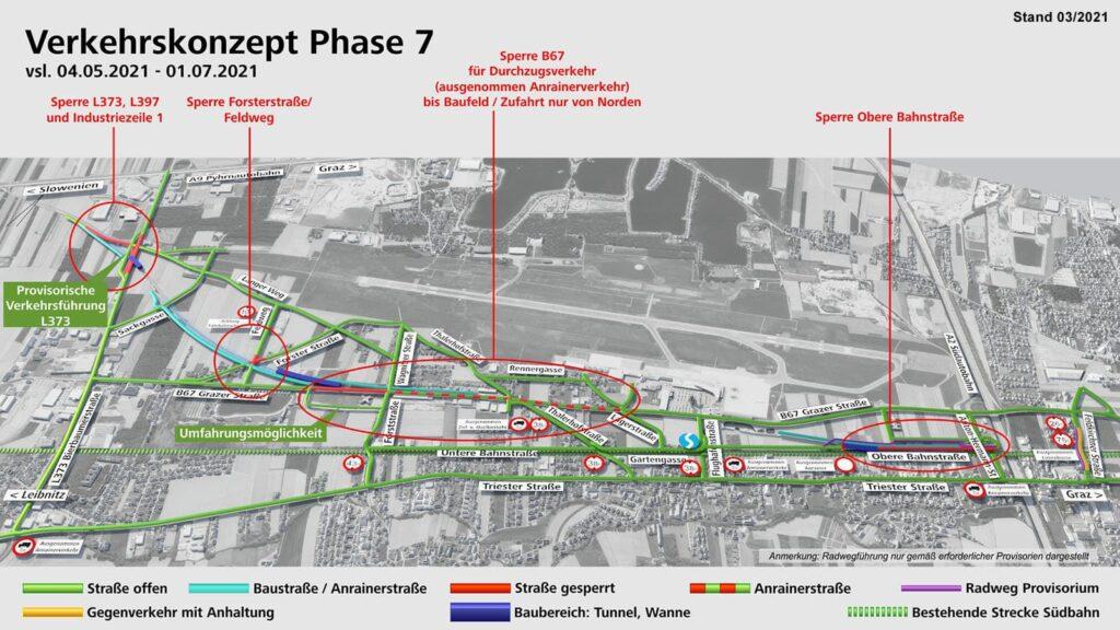 Verkehrskonzept Feldkirchen Koralmbahn Phase 7