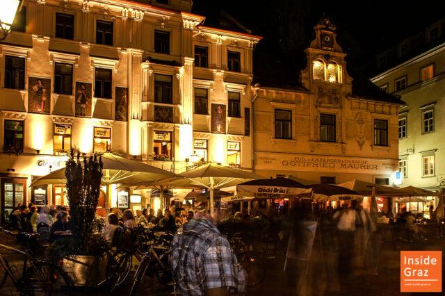 Nachtleben in Graz