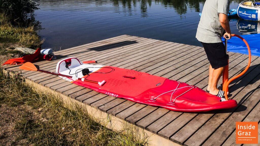 SUP Board Ausstattung