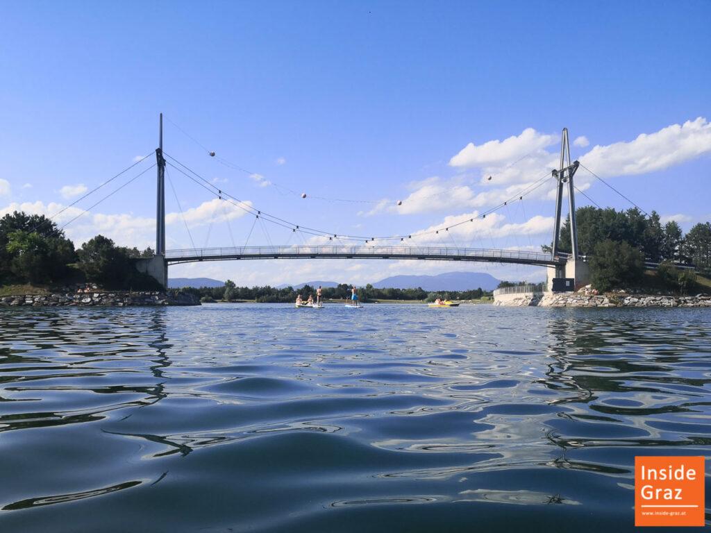 Wassersport am Schwarzlsee