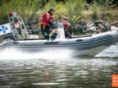 Boot der Wasserrettung