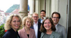 Züricher Delegation in Graz