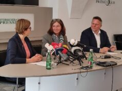 KPÖ Grüne SPÖ Pressekonferenz